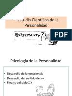 Estudio Científico personalidad