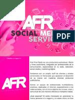 Propuesta Manejo de Redes Sociales