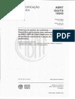 ABNT ISO TS 16949_2010