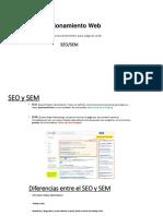 Posicionamiento Web SEO SEM