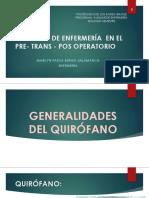 1. Generalidades Del Quirófano
