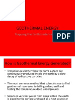 Geothermal Energy Powerpoint