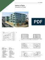 Housing Blocks Montmartre in Paris-114138