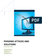 Phishing Attacks and Solutions