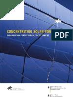 Solar Millenium Centrale Solaire Interet