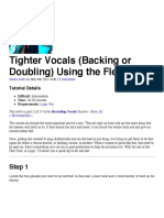 curso de técnico de sonido y producción musical