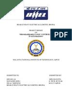 VT SHIVAM Training Report .
