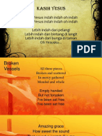 kasih yesus broken vessels how great is our god.pptx