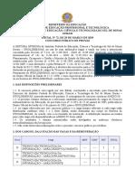 Edital Nº 72-2019 - Técnico Administrativo