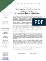 Communiqué Desessard_Muller_ retraites_20102010_repartition_ou_capitalisation