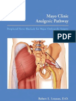 Mayo Clinic Analgesic Pathway - Peripheral Nerve Blockade for Major Orthopedic Surgery
