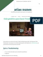 Guía Genérica Para Hacer Troubleshooting – Matías Nunes