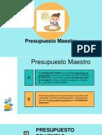 Diapositiva Presupuestos Maestro