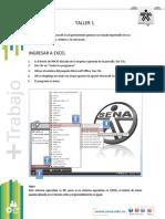 Taller 1. Interfaz de Excel