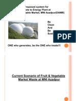 Waste to Energy Plant Presentation
