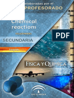 Chemical Reactions - 4to ESO - AICLE - FyQ - Solucionario