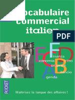 Vocabulaire commercial italien