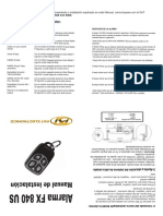 Manual PST FX840US Motorusa