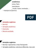 Resumo de Introdução a Anatomia