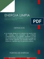 Energia Limpia Presentacion
