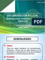 Clase 1 - Unidad I - La Documentación Policial - Generalidades