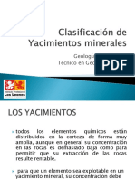 Clasificación de Yacimientos minerales.pptx