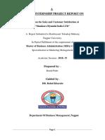 SIP Report