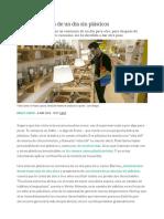 Éxitos y Fracasos de Un Día Sin Plásticos _ Verne EL PAÍS