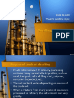 Desalting of Crude Oil