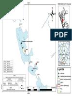 Plano de Localización de Lagunas