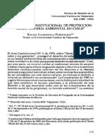 El Recurso Constitucional de Protección sobre Materia Ambiental en Chile, UCV.pdf