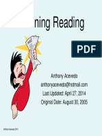 Defining Reading Anthony Acevedo