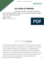 La Vinotinto Hace Escala en Colombia _ Deportes _ EL PAÍS