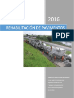 Rehabilitación de Pavimentos