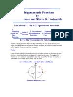 The Trigonometric Functions