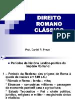 DIREITO ROMANO CLÁSSICO