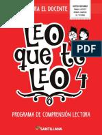 GD_Leo Que Te Leo 4