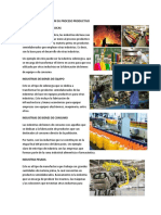TIPOS DE INDUSTRIA SEGÚN SU PROCESO PRODUCTIVO.docx
