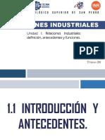 Unidad 1_ Relaciones Industriales.