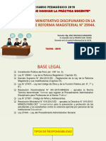 Proceso Administrativo Disciplinario Docente WILE MACHACA-2019 i