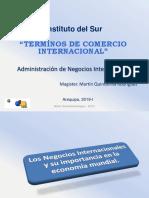 Terminos de Comercio Internacional