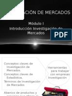 Introducción Investigación de Mercados