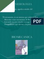 BIOMECANICA  RAQUIS DORSAL