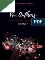 Nr. V al revistei cultural-artistice Vox Authors