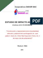 EIA Victor Larco Carretera DAKAR