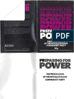 Preparing for Power RCP 3rd Ed Aug 1984