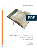 The Islamic Conception of Life