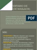 Mbi Inventario de Bunout (de Maslach)