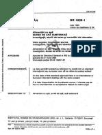 SR 1628 -1-1995 Surse de apa subterana. Investigatii, studii si cercetari de laborator.pdf