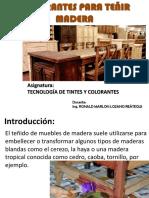 Clase1-Colorantes Para Teñir Madera